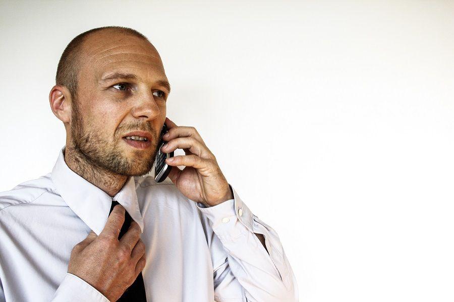 Prima telefonata, faccia di lui dopo i primi tre quarti d'ora di dissertazione sull'olio di palma