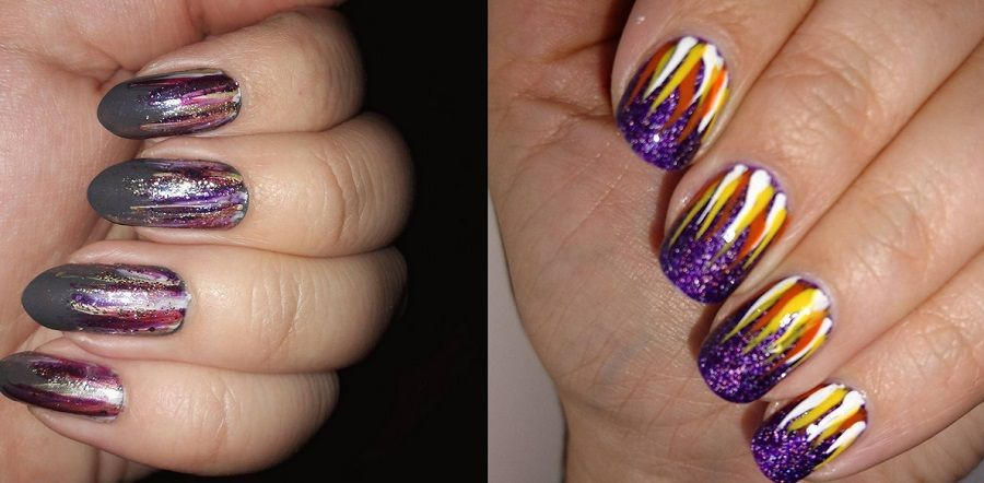 L'effetto Waterfall Nails