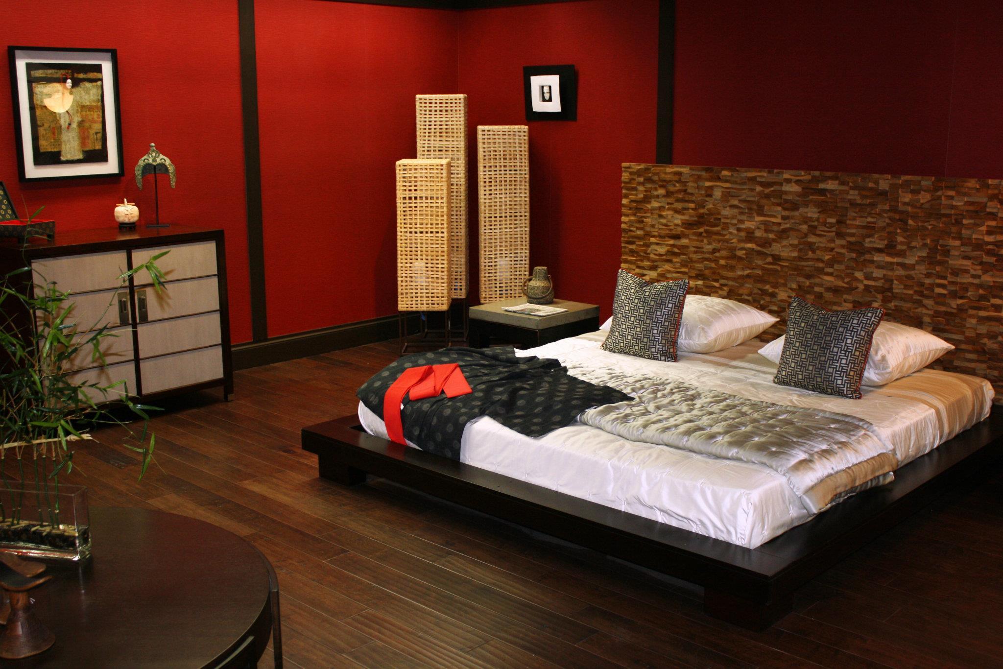 Colori della camera da letto giapponese