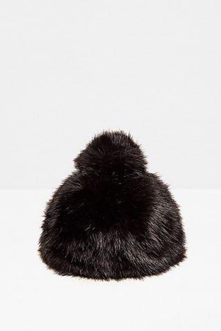 Beanie effetto pelliccia di Zara