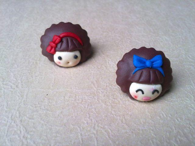 Decorazioni a forma di bambola