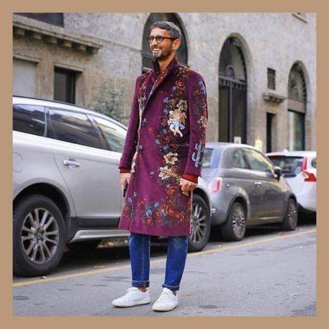 Simone Marchetti in Dolce&Gabbana