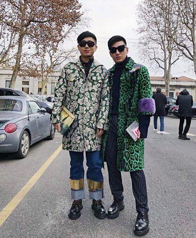 Bryanboy in Gucci