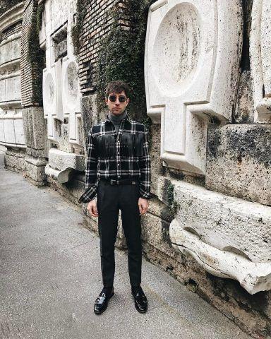 Filippo Fiora in Dolce&Gabbana