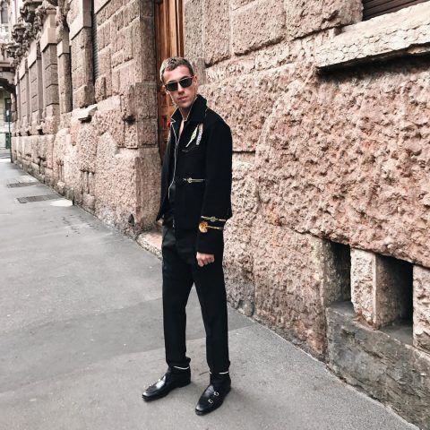 Filippo Cirulli in Valentino