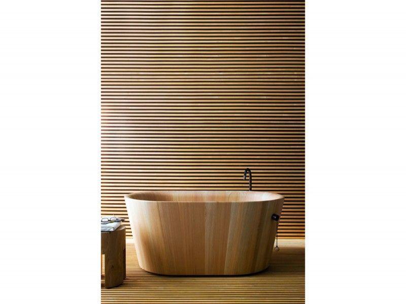 Rinnovare la casa con moderni rivestimenti in legno bigodino - Rivestimento bagno legno ...