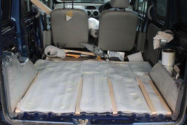 Il restauro del furgoncino