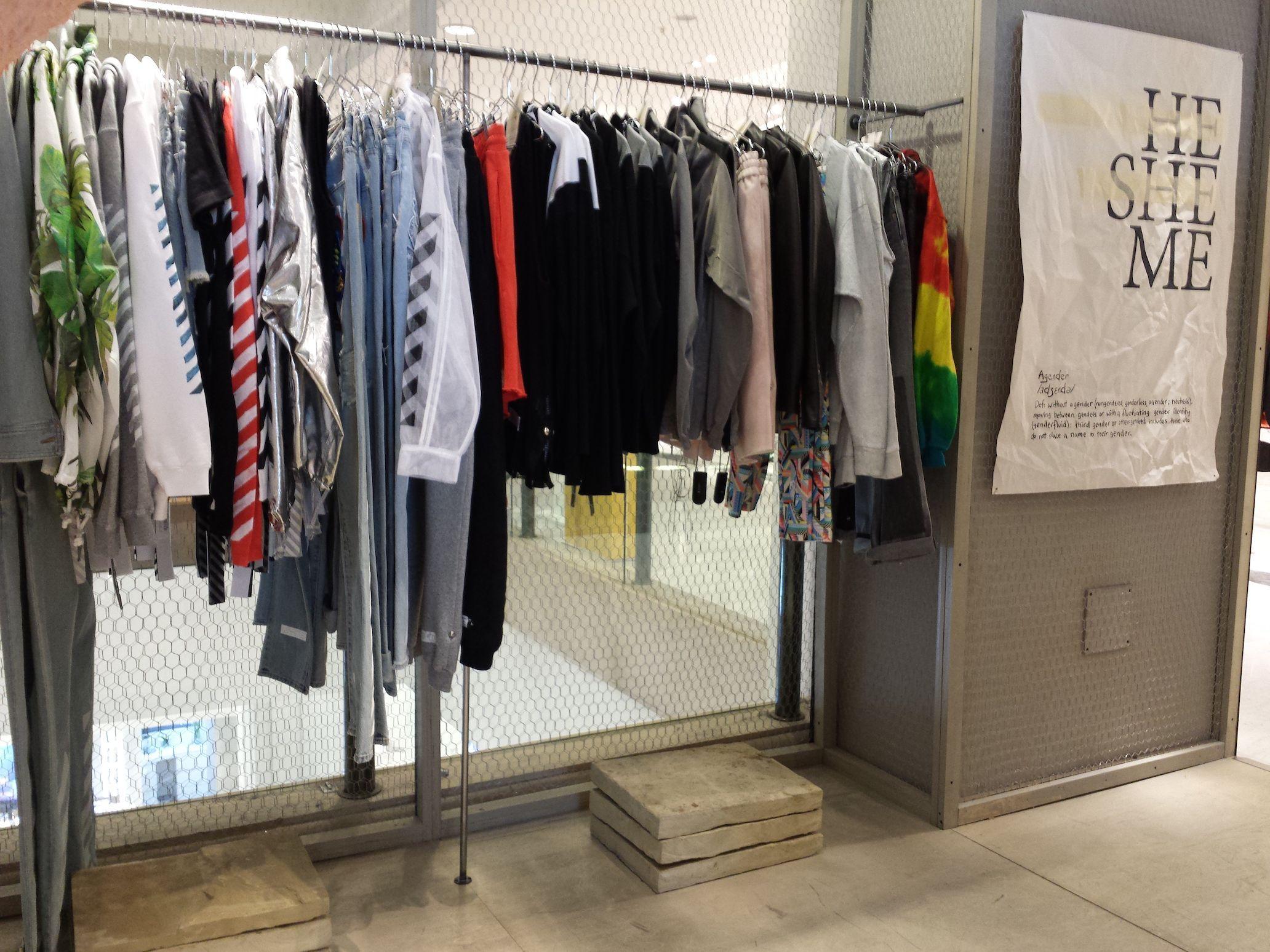 Il concept store Agender