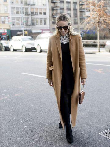 Cappotto color cammello e stivaletti - Dal blog Damsel in Dior