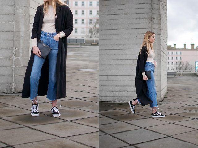 Mom Jeans e lungo cardigan