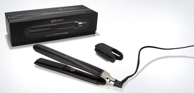 La styler di ghd platinum riduce più del 50% il rischio di rottura dei capelli e ne aumenta la luminosità fino al 20%. Il top per i professionisti! €249