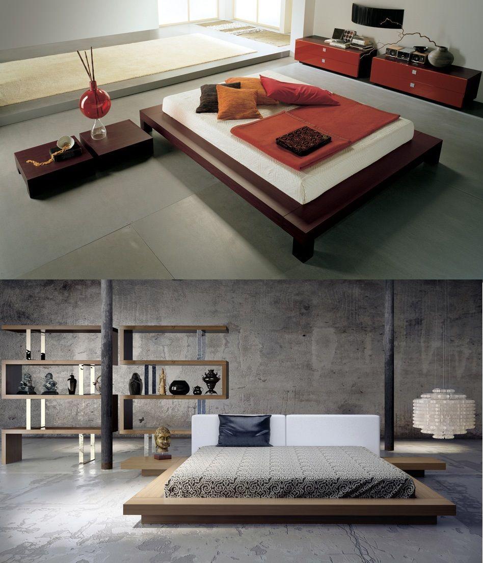 Come arredare una camera da letto giapponese low cost - Letto giapponese ...
