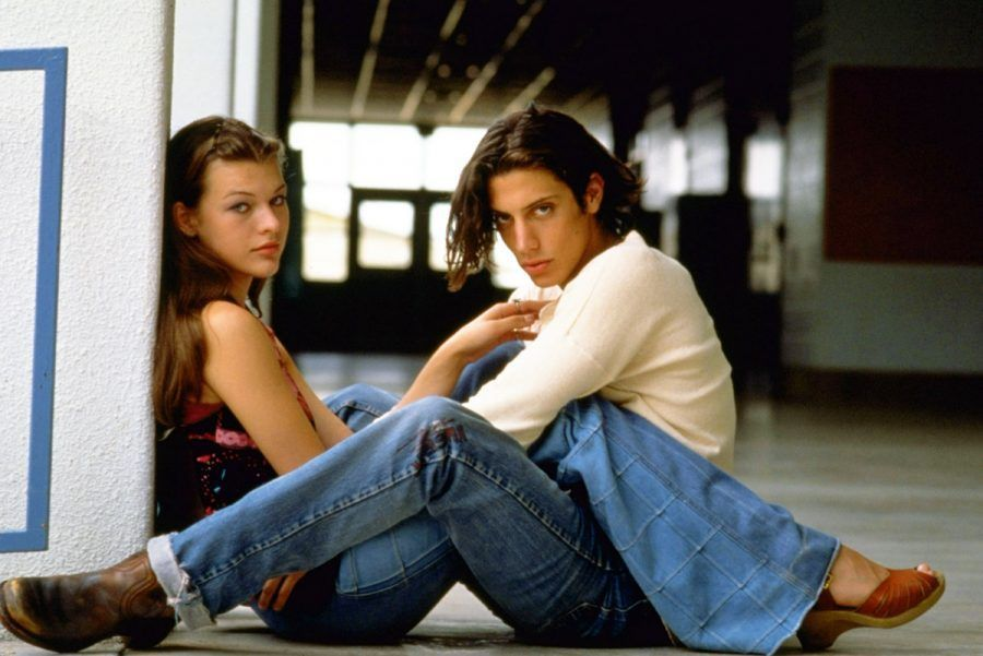 Milla Jovovich e Shawn Andrews