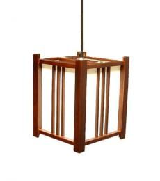Lampadario geometrico giapponese