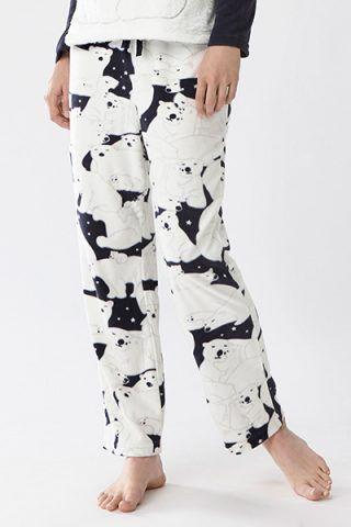 Pantaloni con orsi polari di Oysho (17,99 €)