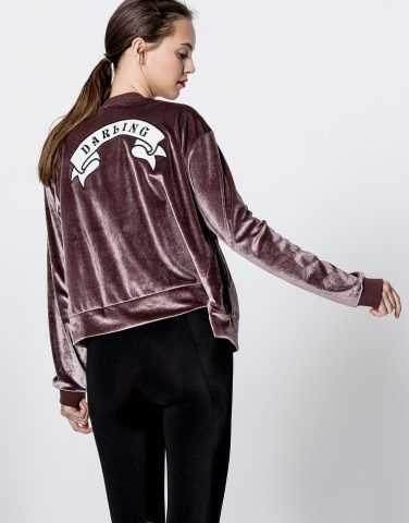 Giacca velluto con toppe Pull&Bear €19,99