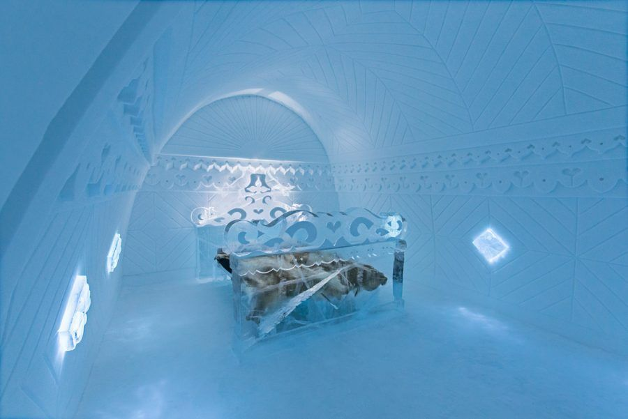 "ART & DESIGN book 2015, ICEHOTEL, iCelebrate25, Suite 310, ""Borderland"" design by Tomasz Czaykowski, Eryk Marks"