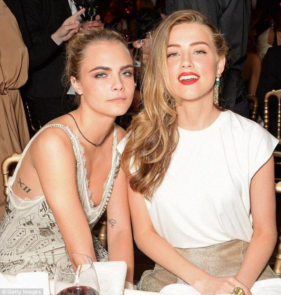 Cara Delevingne e Amber Heard