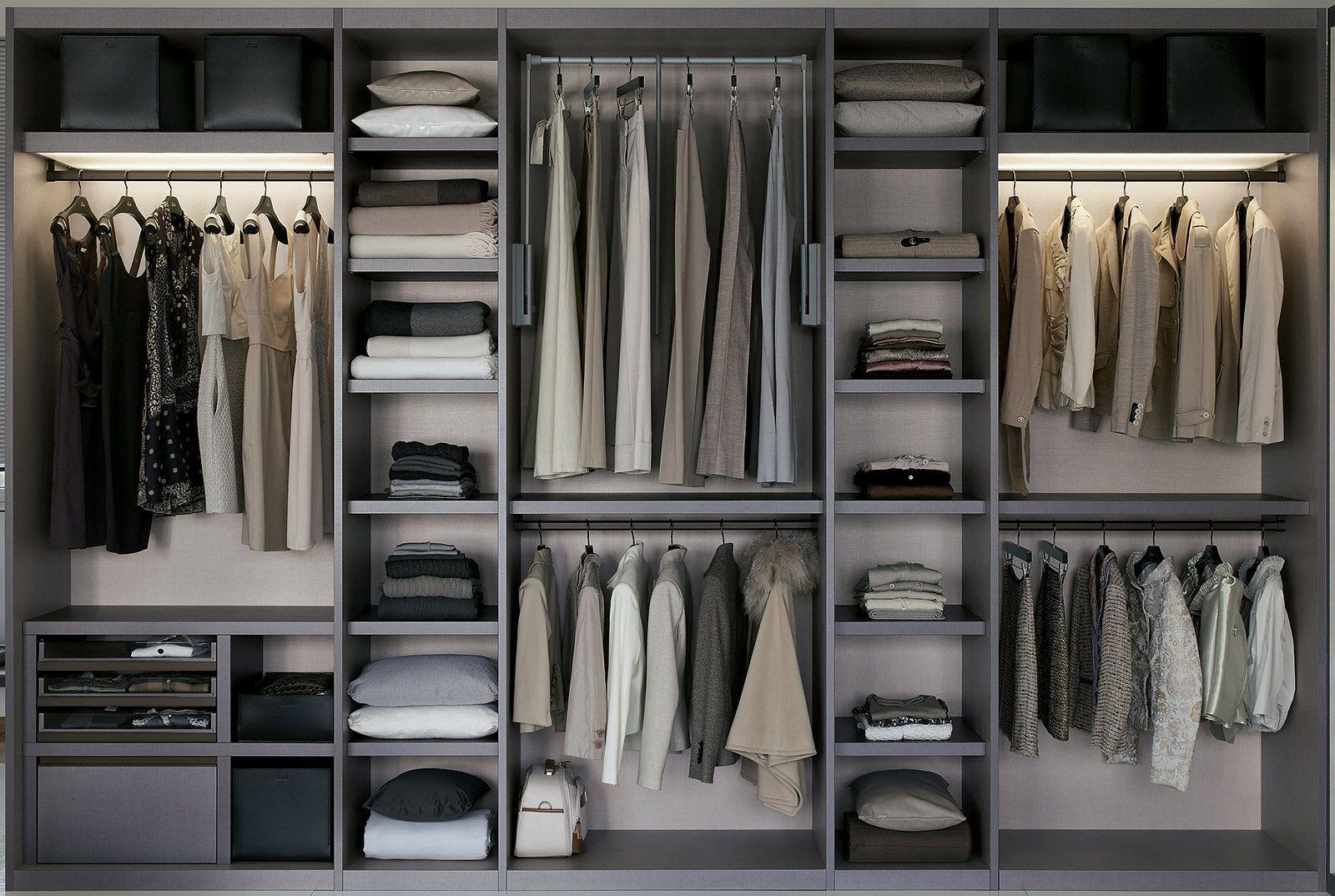 Come arredare una camera da letto piccola le idee - Camera da letto con cabina armadio ad angolo ...