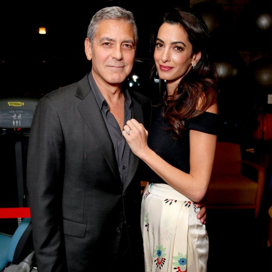 George e Amal Clooney a New York