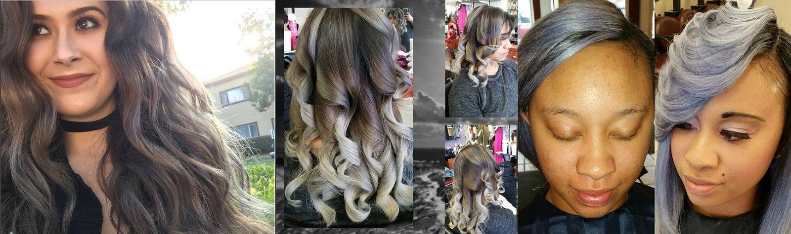 Hair trend, torna alla ribalta il colore grigio con la sfumatura Grey Ombré