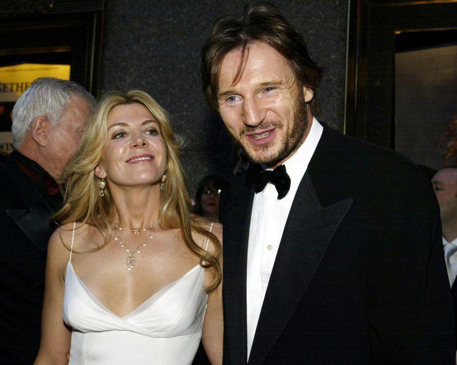 Liam Neeson e la moglie Natasha Richardson