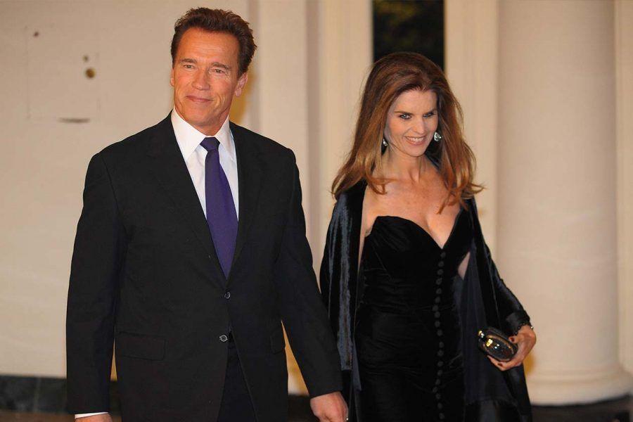 Maria Shiver e Arnold Schwarzenegger