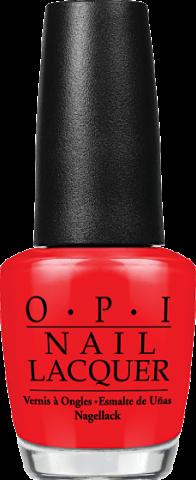Lo smalto rosso Big Apple Red di OPI garantisce una lunghissima resistenza, una facile stesura e un finish perfetto. €10