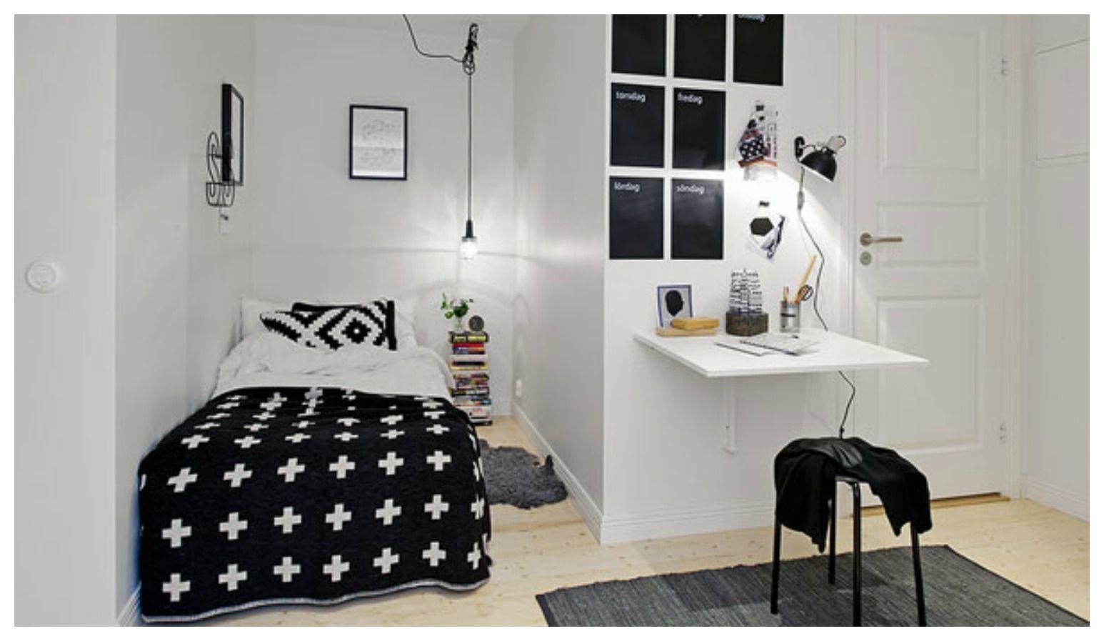 Come ricavare una piccola camera per gli ospiti in poco spazio