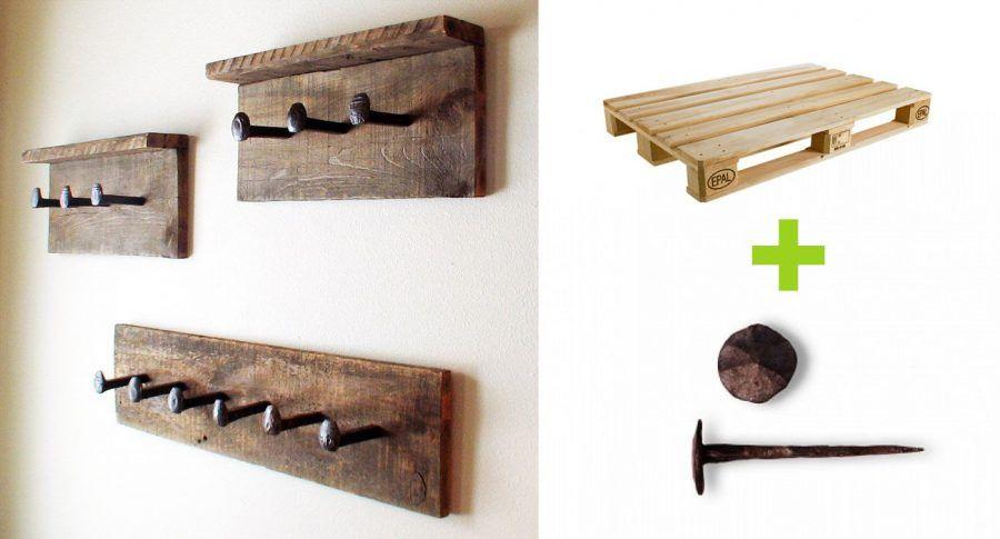 Appendiabiti porta canovacci e porta asciugamani fai da te bigodino - Accessori per bagno in legno ...