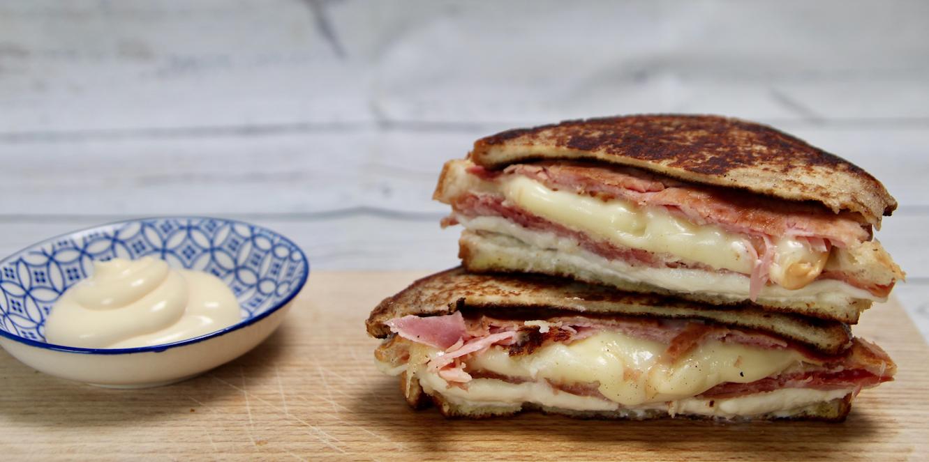 La video ricetta del Monte Cristo sandwich