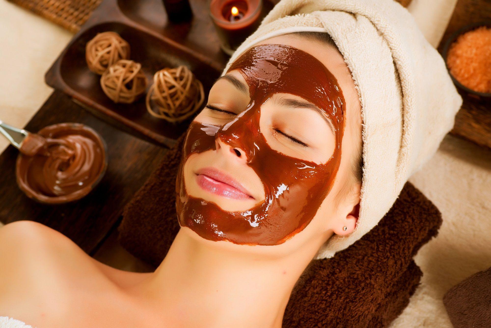 Maschera purificante al cacao