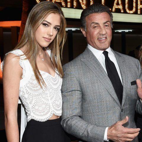 Sistine Stallone, figlia di Sylvester Stallone