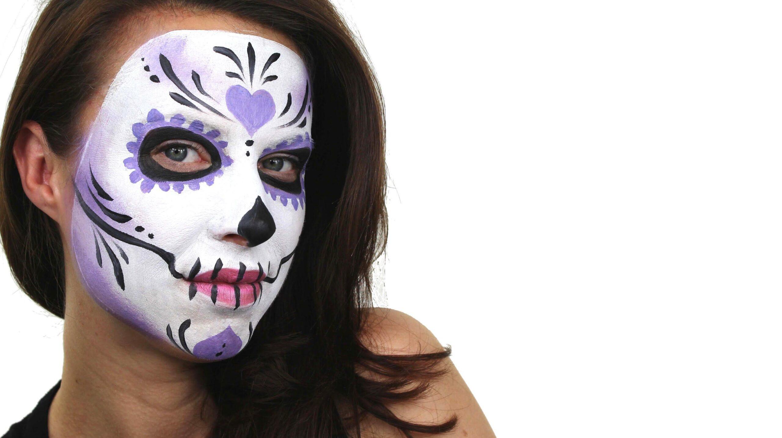 Make up da teschio: arte o esagerazione?