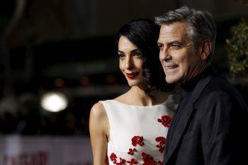 Sono nati i gemelli di George e Amal Clooney