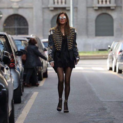 Anna Dello Russo in Dolce&Gabbana