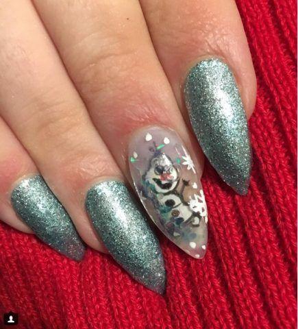 Aquarium Nail, Olaf