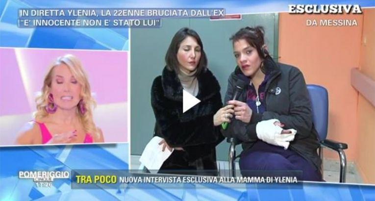 Barbara D'Urso intervista Ylenia