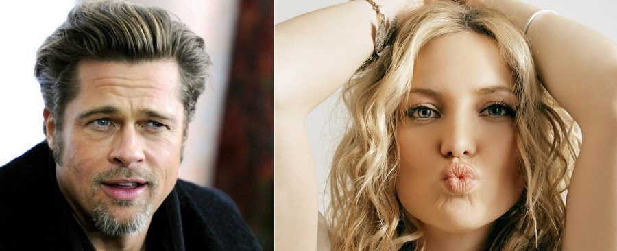 Brad Pitt e Kate Hudson, ma che davvero?