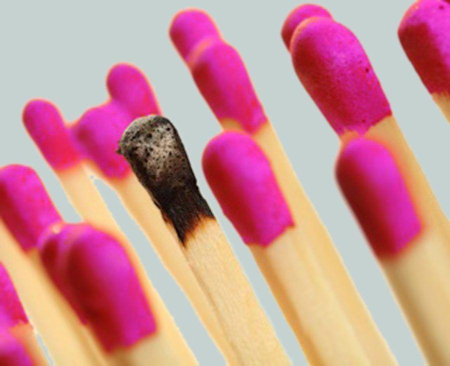 burnout letteralmente vuol dire bruciare