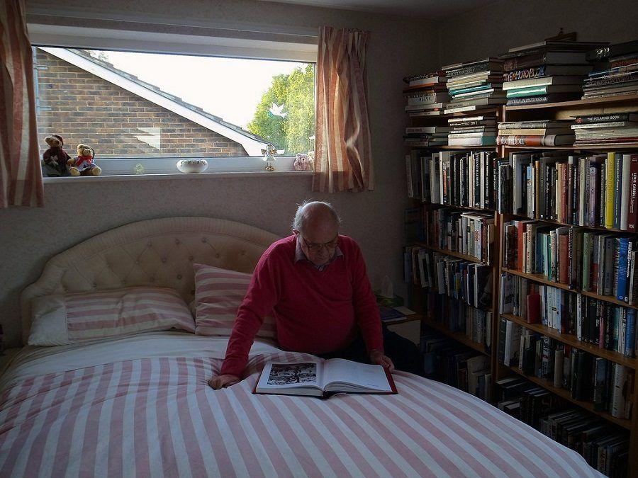 Anche se non si dovrebbe fare, questa camera da letto è paradisiaca!