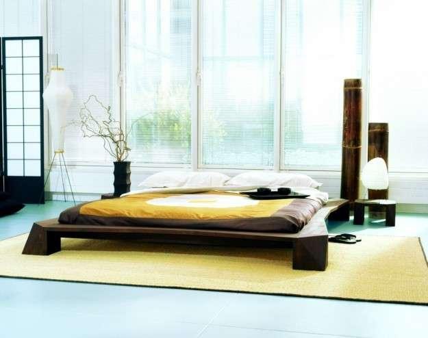 Come arredare una camera da letto giapponese low cost for Letto futon
