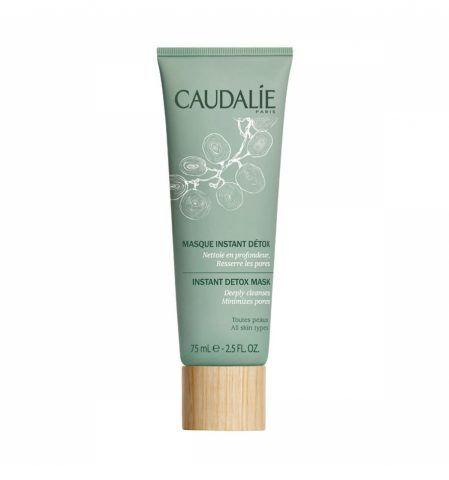 La Maschera Istante Detossinante di Caudalie è specifica per le pelli più stressate.