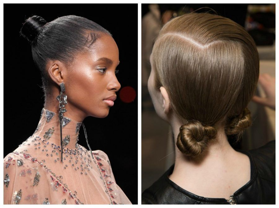 chignon Collage