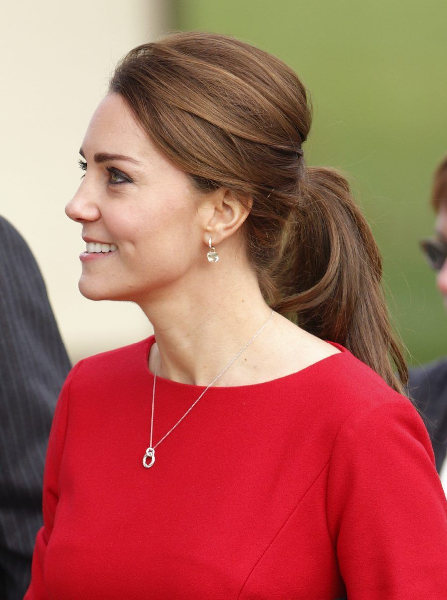 NORWICH, UNITED KINGDOM - NOVEMBER 25: (EMBARGOED FOR PUBLICATION IN UK NEWSPAPERS UNTIL 48 HOURS AFTER CREATE DATE AND TIME) Catherine, Duchess of Cambridge attends the East Anglia's Children's Hospices (EACH) Norfolk Capital Appeal launch event at the Norfolk Showground on November 25, 2014 in Norwich, England. (Photo by Max Mumby/Indigo/Getty Images)