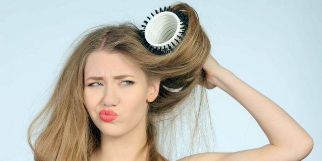 No ai capelli troppo lisci e piatti