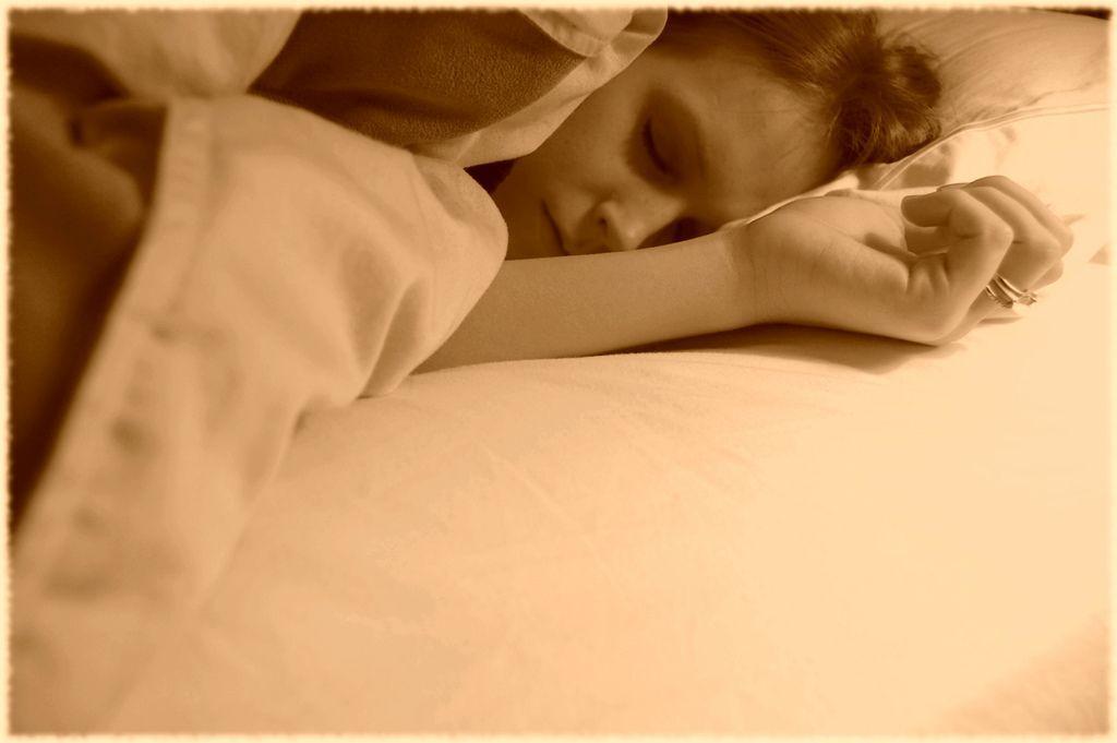 Brutto svegliarsi con la bava sul cuscino!