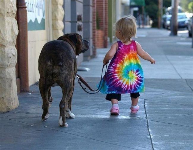 foto bambini animali13
