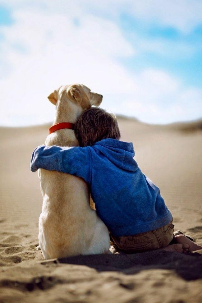 foto bambini animali15