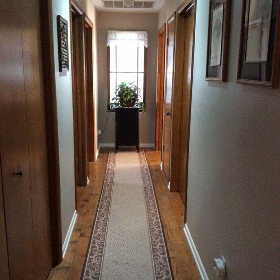 Un corridoio illuminato con un piccolo trucco...